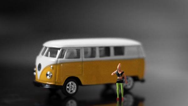 VW T1 Bus Miniatur